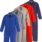 Men Coverall EN11611 Class2 Flameproof Safety Wear Industrial Use