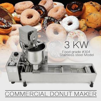 30-100mm size donut production making machine commercial industrial electric donut doughnut frying machine