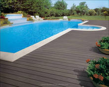 New Solid Co-Ex decking Hard wearing Hollow Co-Extrusion composite deck. Waterproof WPC outdoor decking floor
