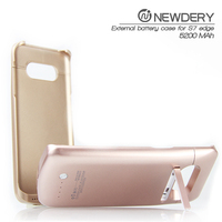 2016 New premium slim portable power case for Samsung S7 edge power bank case for samsung galaxy s4 mini i9190