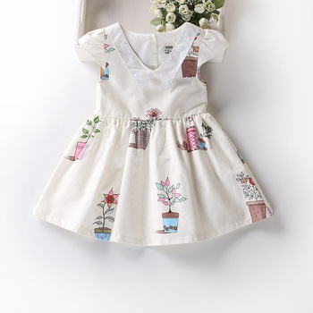 Bsd1674 Nueva Llegada Niños Frocks Diseños Simples Vestido Del Bebé ...