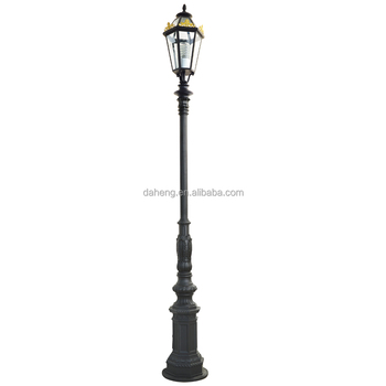 garden pole. Zhongshan Daheng Outdoor Aluminum Antique Garden Pole Light Decorative LED Street Lamp Landscape L