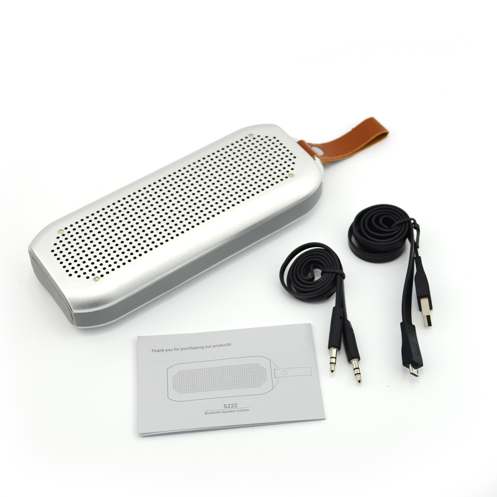 Professional Products Mini Bluetooth Speake with Mic Wireless Bluetooth Waterproof Speaker Microphone Speaker S222 Mini