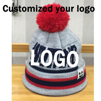 Factory Customized Beanies knitted Your Design warm hats ec9fb12ab7f