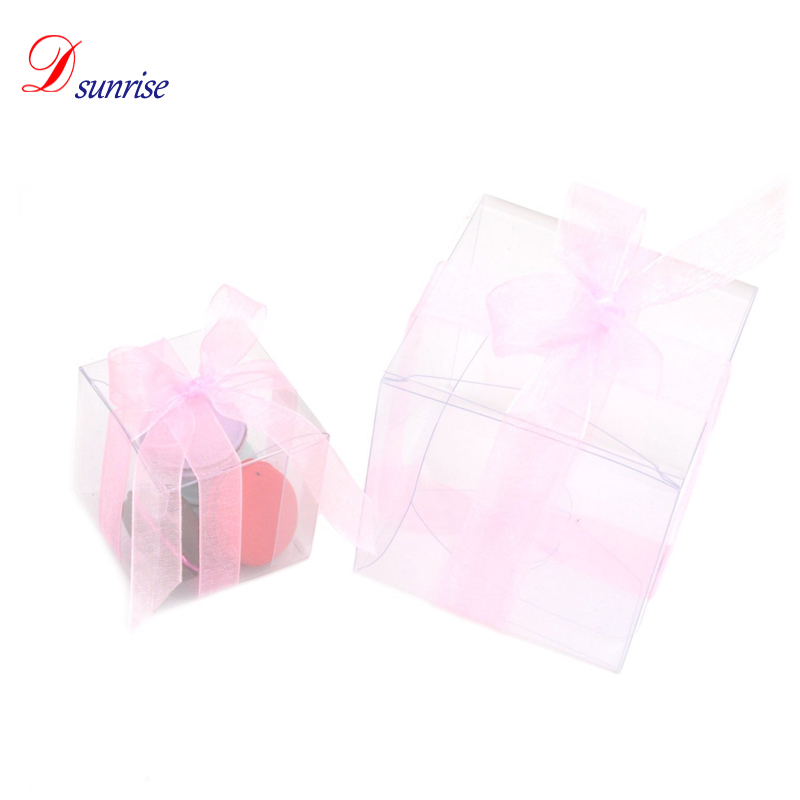 Indian wedding favors clear plastic cupcake boxes cheap
