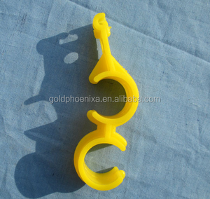 Plastic Pipes Clips clamp hook accessory of drinking line system poultry equipment