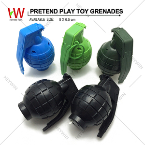 Pretend Play Toys Plastic Toys Grenades With Light / Sound Children Toys Military Set CS Games (HM39T)