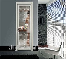 Yu hua shi /Decorative Glass Interior Doors