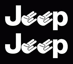 Jeep shocker wrangler Rubicon liberty compass window sticker vinyl decal, Die cut vinyl decal for windows, cars, trucks, tool boxes, laptops, MacBook - virtually any hard, smooth surface