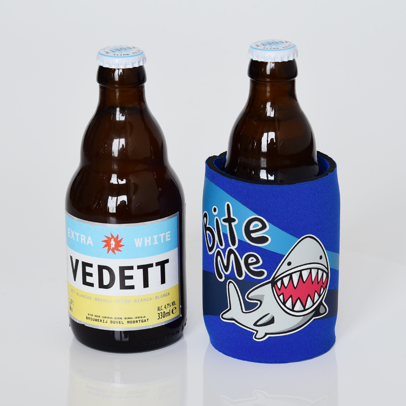 Beer Bottle Cover Logo Printing Can Beer Cooler Bag