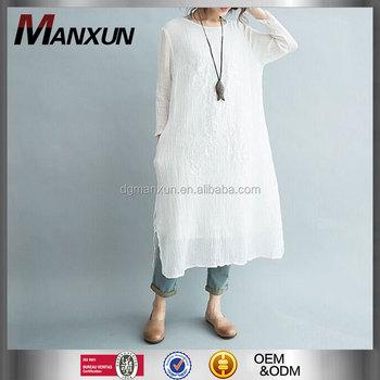 Designer Kleidung Hersteller In China Großhandel Weißes Kleid Chic ...