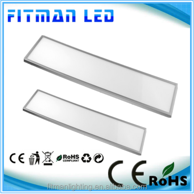 1200*300mm 40W Dimmable led panel light 3000-6000K 85-265V AC panel led 3years warranty