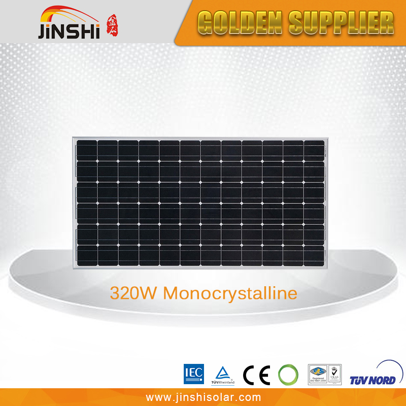 Quality-assured high efficiency 320watt mono solar panel