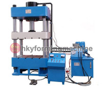 Metal colorful 3D wall panel tile machine, exterior wall board press machine