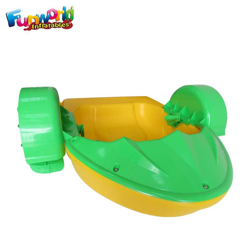 Funworld inflatable pool game kids hand paddle boat for sale