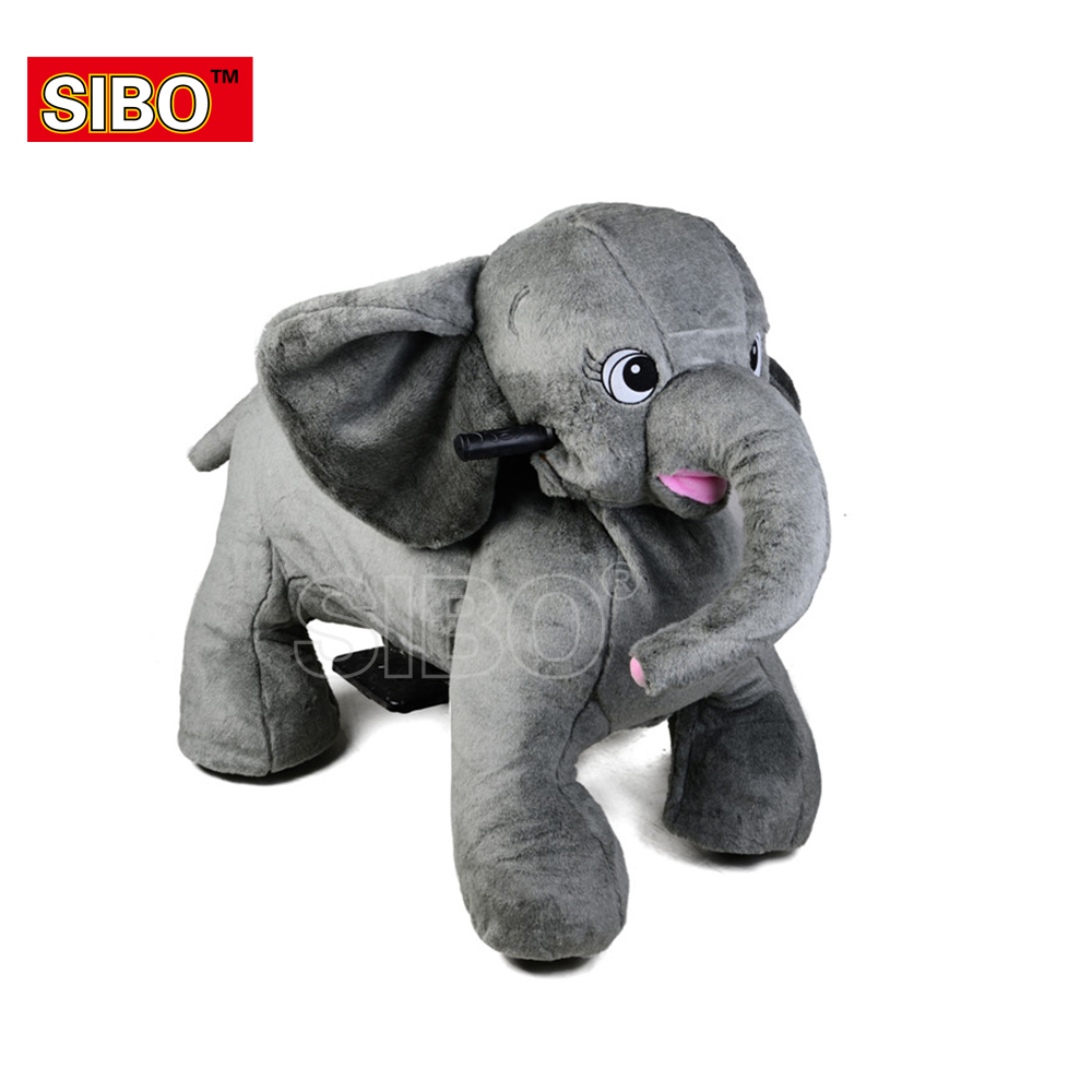 2019 SIBO newly earn money cheap walking stuffed plush <strong>animal</strong> ride <strong>electric</strong>