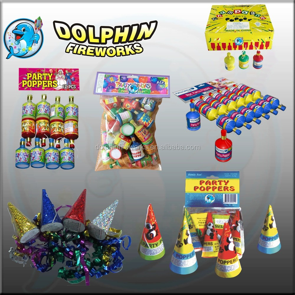 toy fireworks pop pop snapper/party popper fireworks party favor