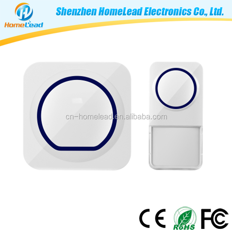 Factory Direct Professional 52 Ringtones Electronic Wireless Doorbell High Quality Office Home Base Door Bells
