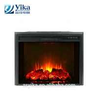 Good price ce modern flame 1500w adjustable thermostat electric insert fireplace