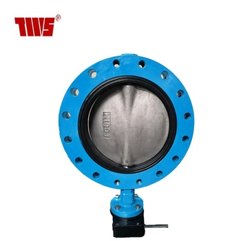 DN350 150 LB  GGG40 Body CF8M Disc Worm Gear operation U type Wafer Butterfly Valve