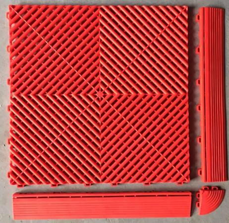 Portatile readygo antiscivolo per esterni piano corte laboratorio piastrelle del pavimento in - Piastrelle pvc ad incastro ...