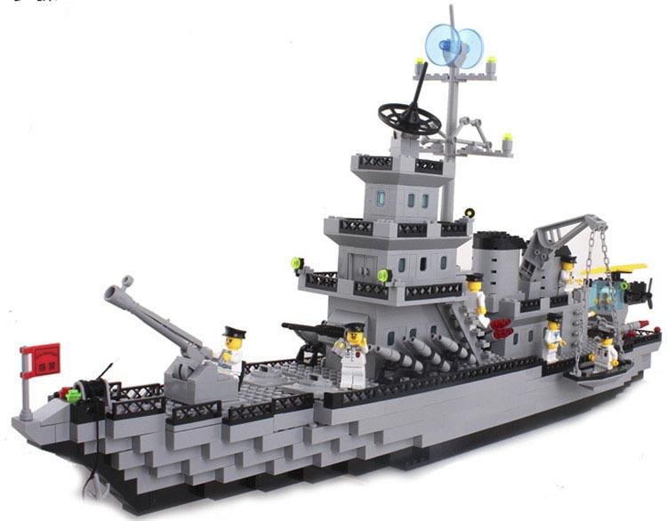 Buy 2015 New 970pcs Navy Military Aircraft Cruiser Warship Battleship Model Block Toy Playmobil Set In Cheap Price On Alibaba Com