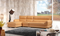 MOOZZi company top grain rustic leather sofa