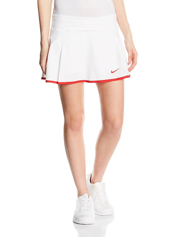Get Quotations · Nike Women's Sharapova Premier Skirt (L, White)