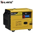 6kva Soundproof/open type diesel generator with cheapest price for export
