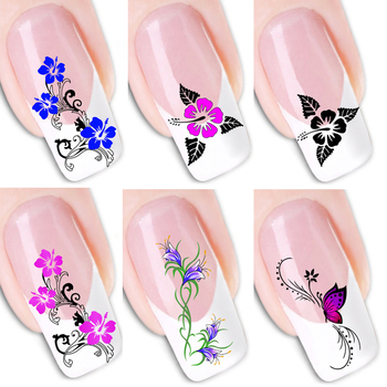 Water Transfer Nail Sticker Wall Sticker 3d Colored Nail Sticker