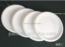 Cheap sell biodegradable eco friendly food plate