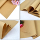 Wholesale 60*60CM Brown Color Kraft Paper For Flowers florist wrapping paper DIY Material C115/NPZ/BS