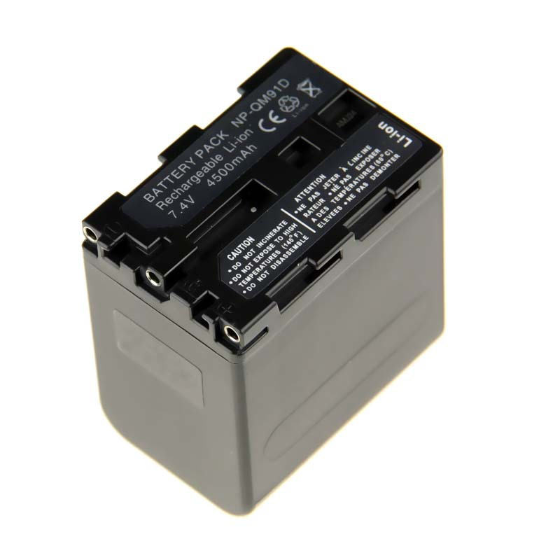 1PCS NP-QM91D NP QM91D Camcorder Rechargeable Li-ion Camera Battery For Sony DCR-PC115E DCR-TRV265 Camera