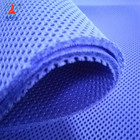 OEKO-Tex Standard 3mm polyester round hole sandwich 3D air mesh fabric for chair bag sports shoes