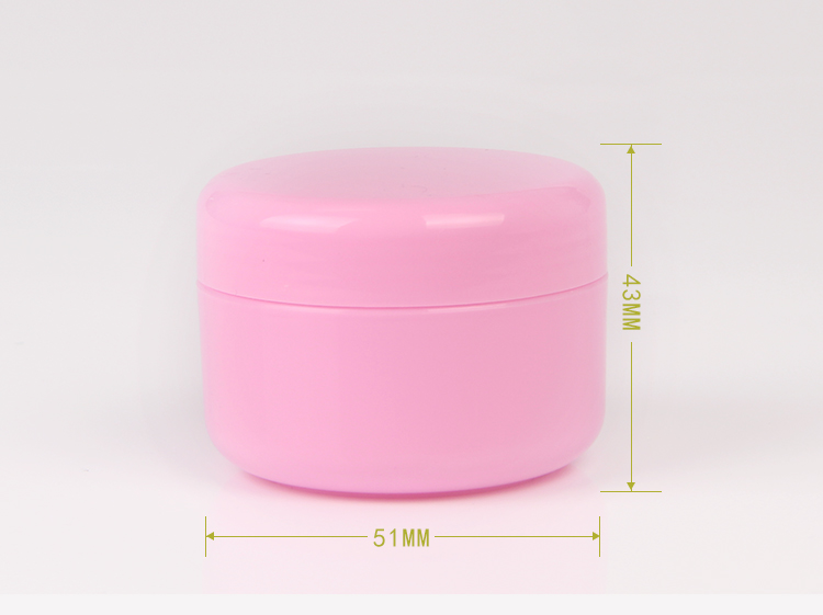 Wholesale cosmetic containers 20g plastic cream jars