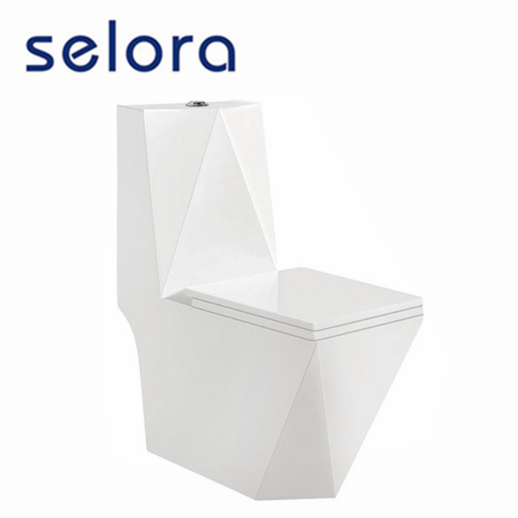 newest sanitary ware manufacturers bathroom toilet with luxury flooding & slow down seat cover