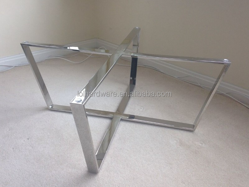 Chrome Metal Dining Table Base Product On Alibaba
