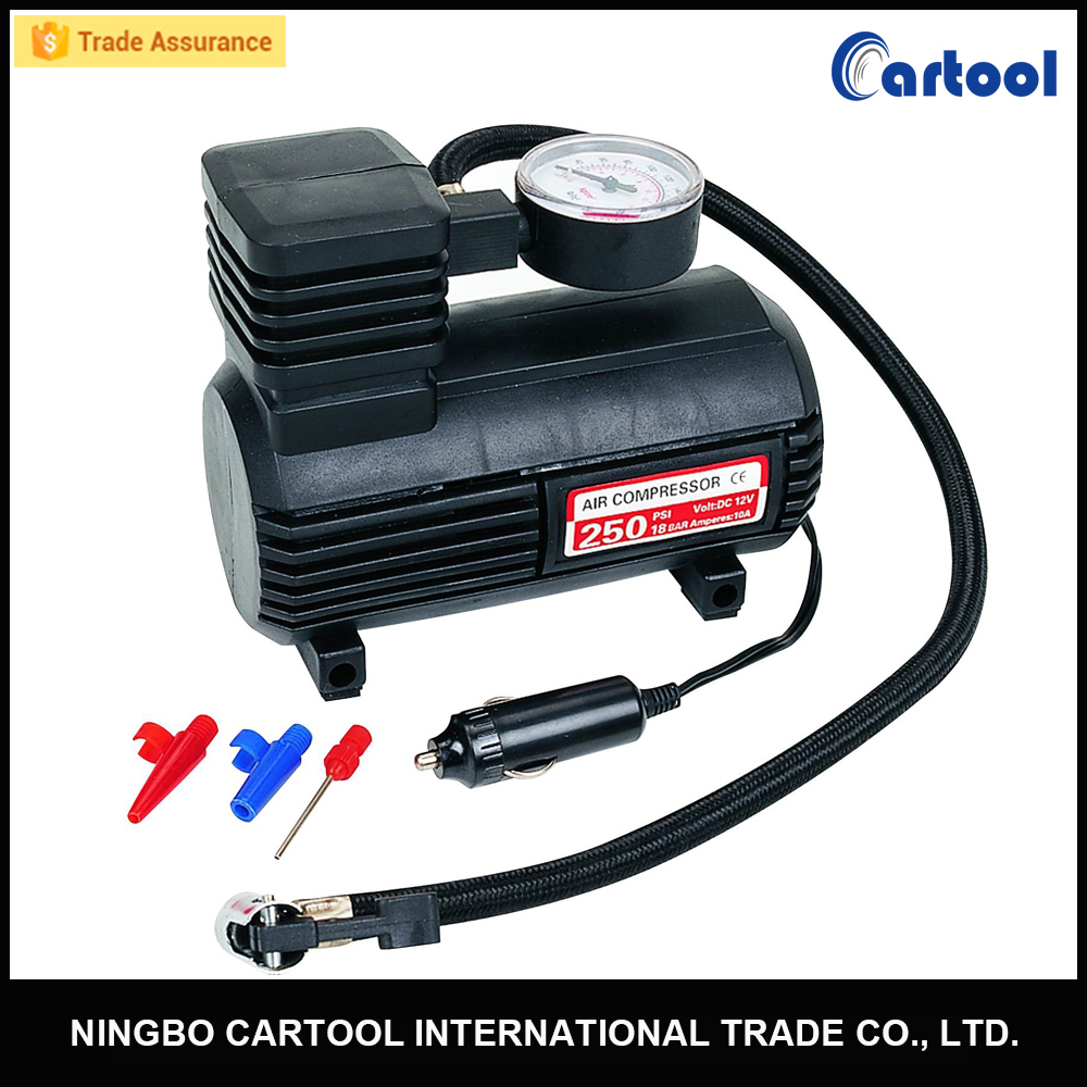 300PSI 12v Portable Mini Tire Inflator Pump