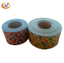 Custom printed christmas candy wrap wax coated paper in roll