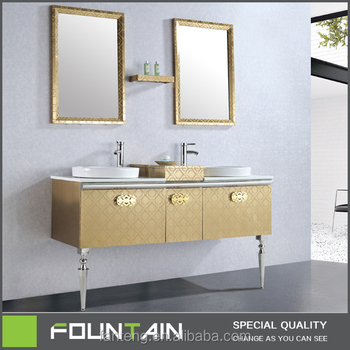 Modern S Vanity Units Commercial Double Washing Basin Sink Stainless Steel Bathroom