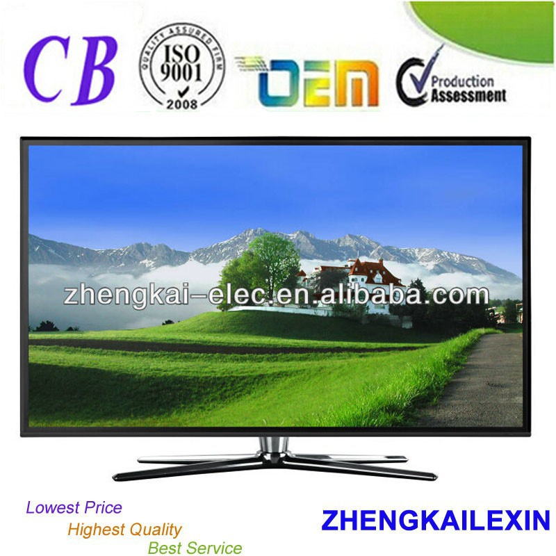 Flat Panel Wide Screen FHD 50inch LED <strong>TV</strong> With 1920*1080 For Home Use