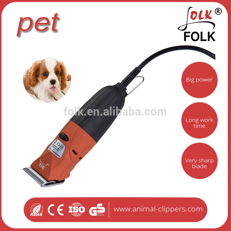 2 speed adjustable 50Hz/ 60Hz less vibration low noise high quality electric pet dog hair clipper