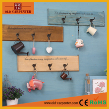 Wall mount decorative cloth hanging hook/coat hook