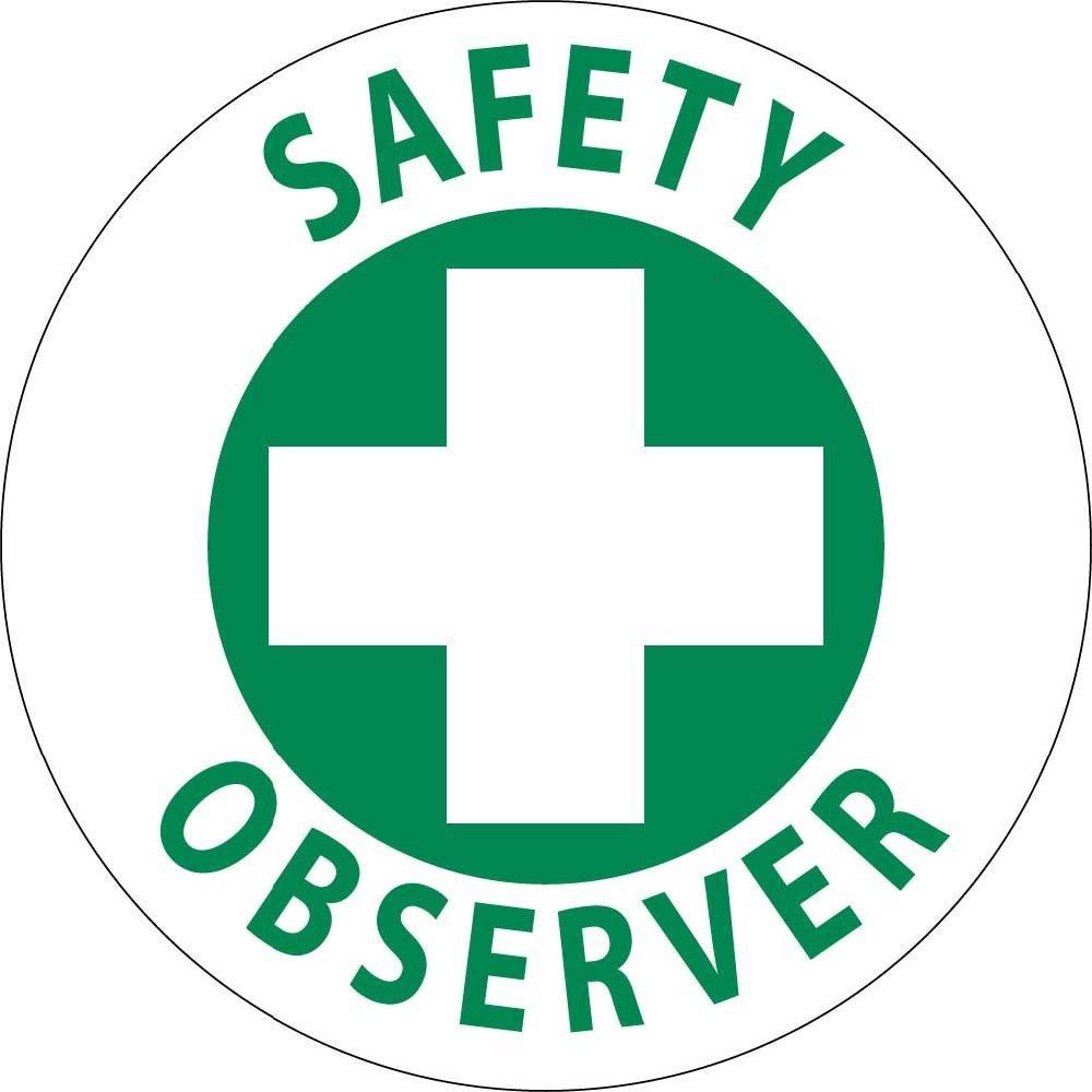 National Marker Corp HH36 Chemical Emergency Team Hard Hat Emblem