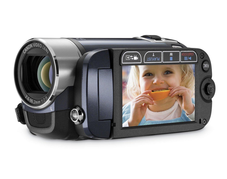 Canon FS200 Flash Memory Camcorder w/41x Advanced Zoom (Evening Blue) - 2009