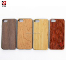 Alibaba best seller wood phone cases for IPhone7, new grey tpu case for IPhone8, hard wood design mobile phone cases