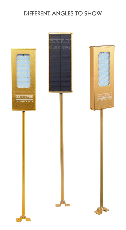 Good Price Waterproof 2 Years warranty IP65 5w led Solar light wall lamp