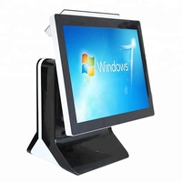POS manufacturer 15 inch all in one touch screen restaurant pos system