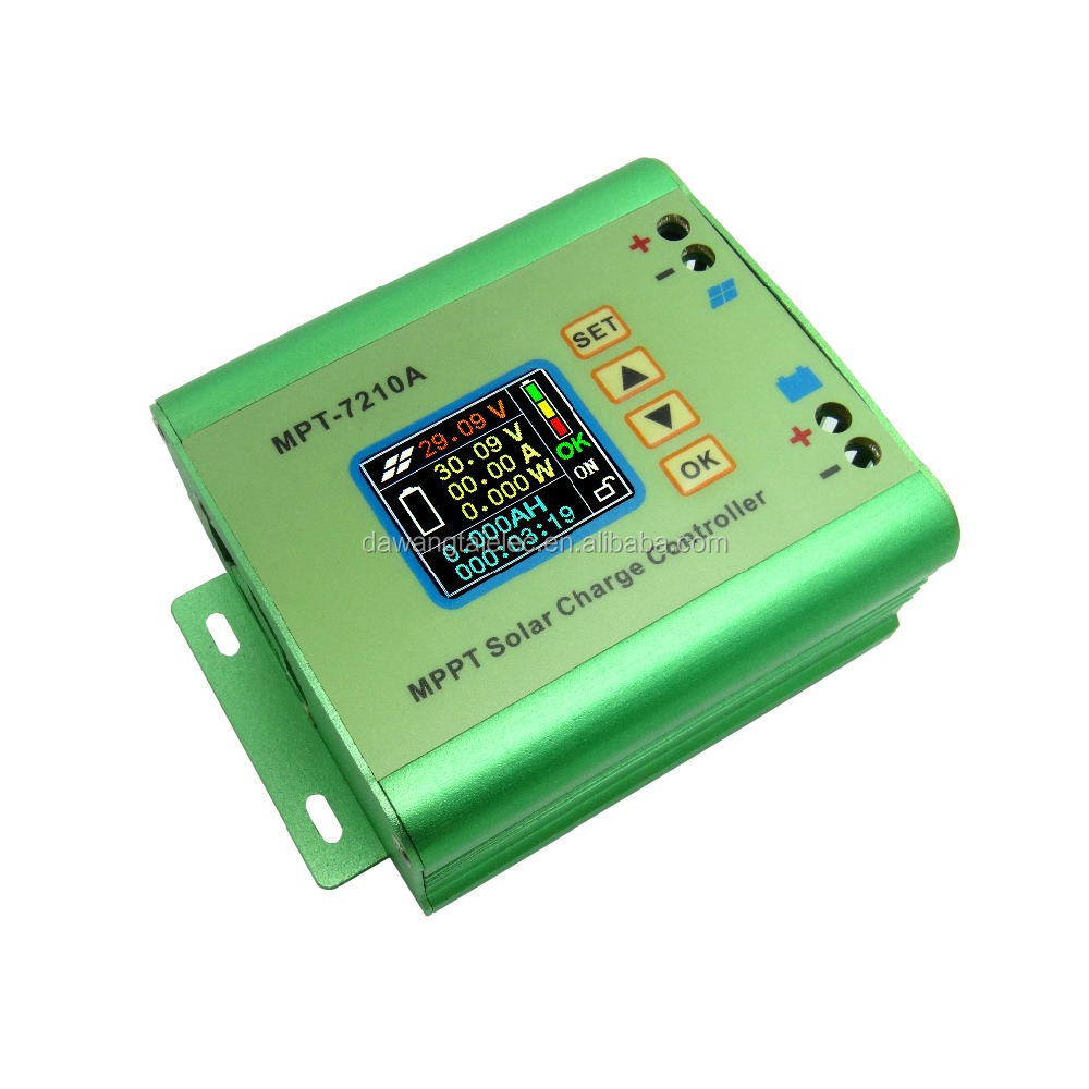 Aluminum Alloy Mpt 7210a Mppt Solar Panel Charge Controller With Lcd Wiring Money Publix Display Buy Controllermppt