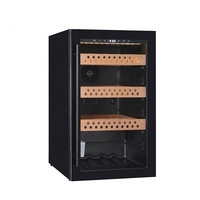 cigar humidity control equipment Cigar cooler Refrigerated wooden Compressor Cigar cellar